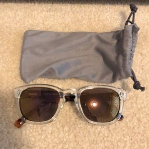 New JCrew clear and tortoise sunglassesNWT, used for sale